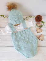 newborn baby boy girl gift hand knit clothes