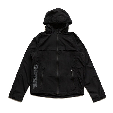 CHRYSTIE C LOGO BLACK JACKET - GOLASO