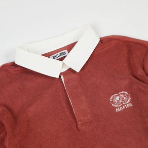 MAFIFA RED POLO SHIRT - GOLASO