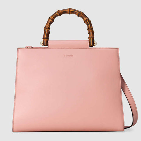 Nymphaea medium top handle bag