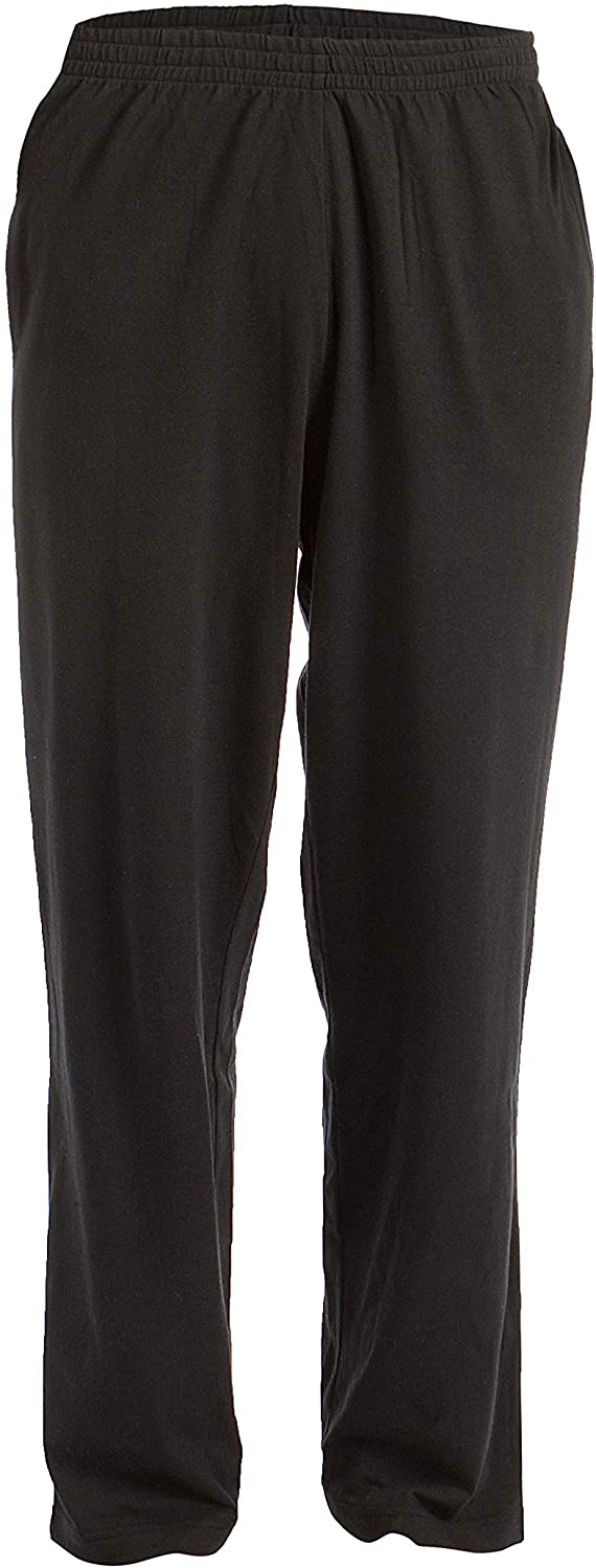 Pembrook Mens Jersey Knit Pants with Elastic Waistband