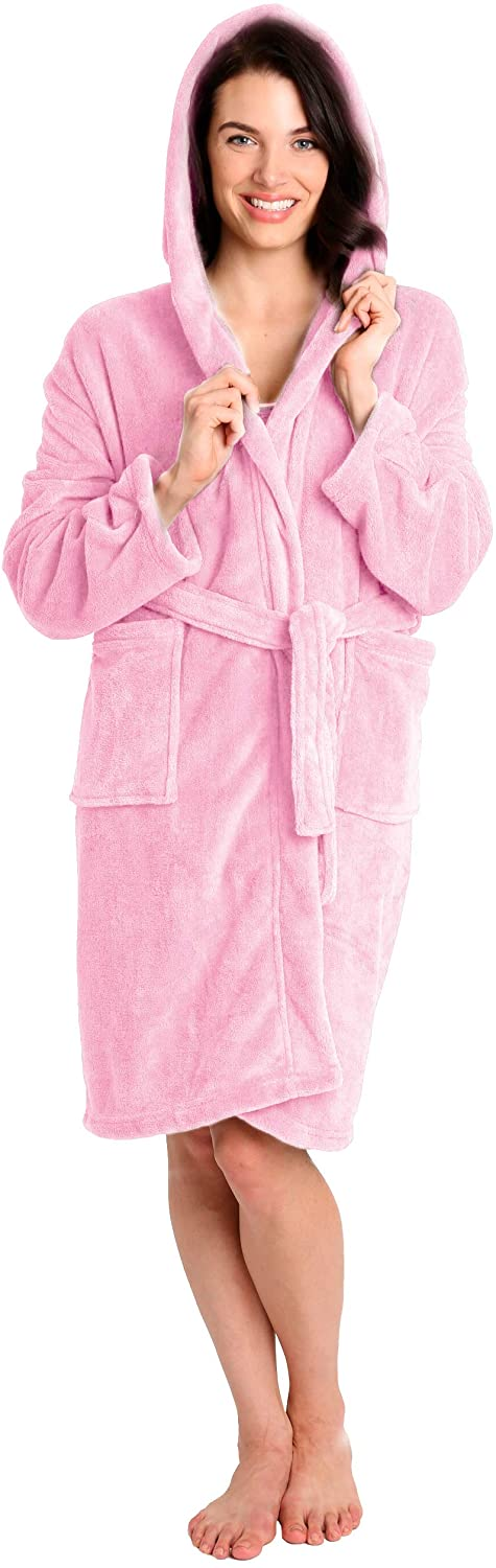 Pembrook Ladies Robe with Hood