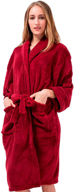Pembrook Ladies Robe - Plush Fleece – Kimono Wrap
