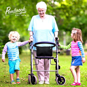 Pembrook Wheelchair Pouch Bag - Walker Accessories Storage Bags