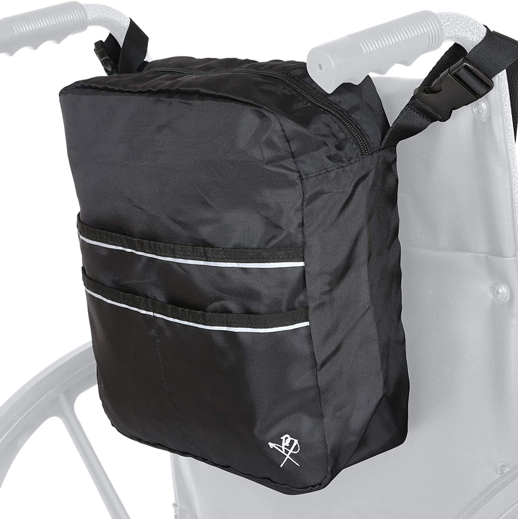 Pembrook Wheelchair Mobility Tote Bag - Travel Accessories Storage Side or Back Bag