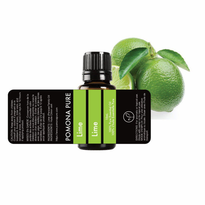 Blends using Lime Essential Oil