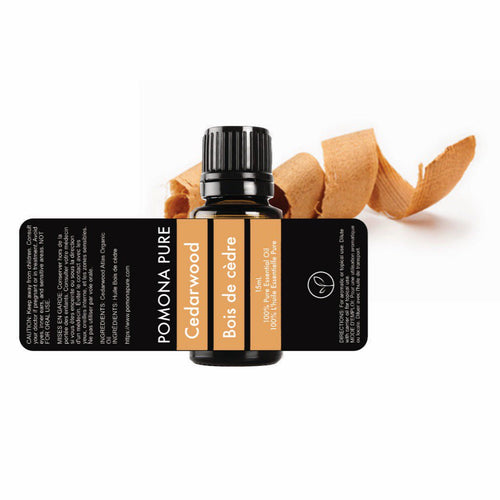 15ml Cedarwood Atlas Organic Essential Oil