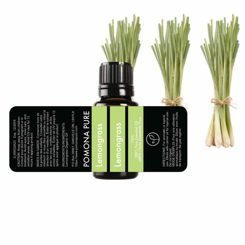 15ml Lemongrass Organic Essential Oil