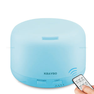 300ml Remote Control Ultrasonic Diffuser with Colour LED Lights