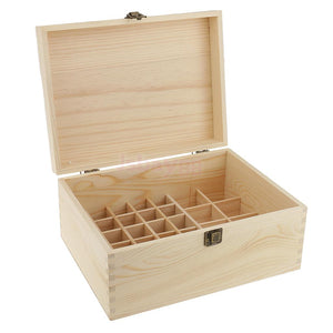 Essential Oil Wooden Storage Box 38 slots