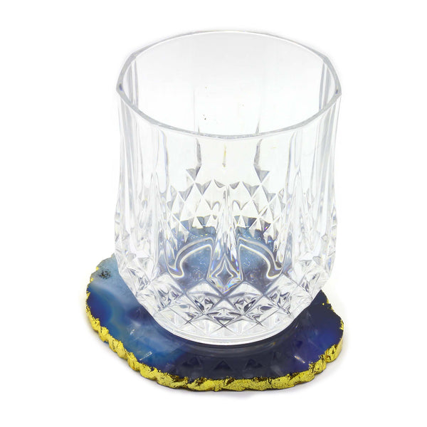 Blue Agate Coasters - Taula Pte Ltd