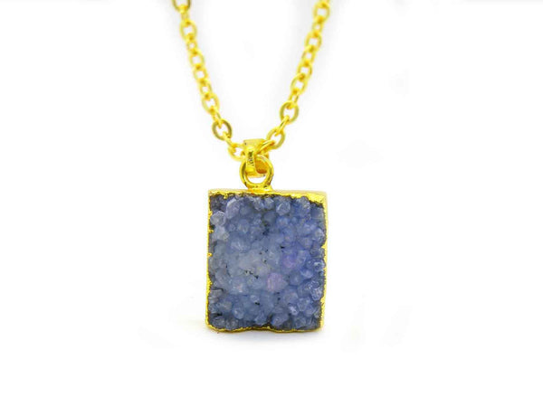 DRUZY PENDANT IN GOLD PLATED BRASS - Taula Pte Ltd
