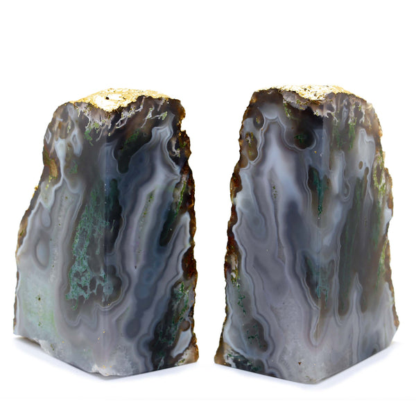 Agate Bookend - Taula Pte Ltd