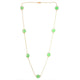 CHALCEDONY BEADS NECKLACE
