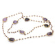 AMETHYST BEADS NECKLACE