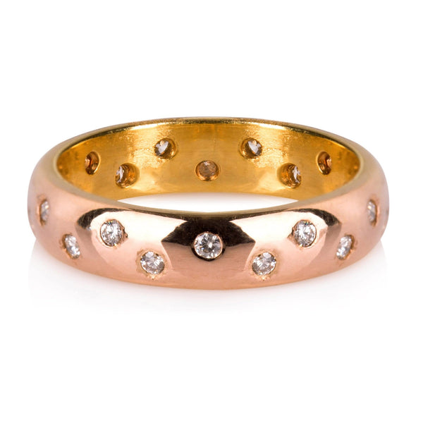 ROSE GOLD & DIAMONDS RING
