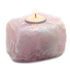 Rose Quartz Gemstone Candle Holder - Taula Pte Ltd