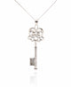 TAULA SILVER KEY PENDANT IN 925 STERLING SILVER
