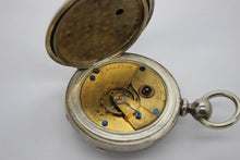 Load image into Gallery viewer, Antique Elgin GM Wheeler Pocket Watch - Open Face w/ Key Wind, Model 1, Size 18s