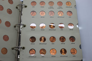 1959 - 2010 Lincoln Cents Coin Collection - Penny Collection - Littleton Album