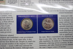 Statehood Quarters Collection Vol. 1, Postal Commemorative Society, Coins/Stamps