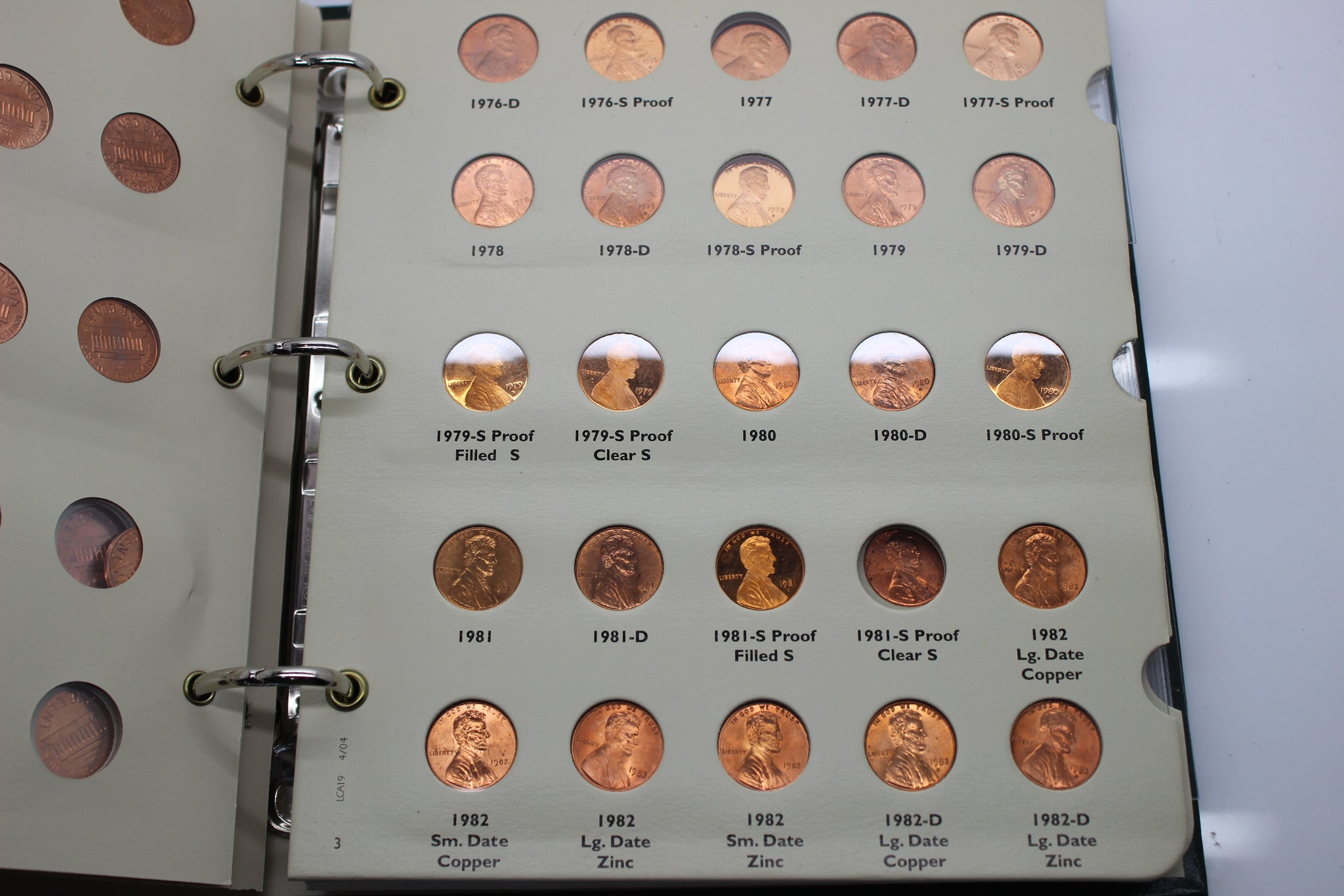 1959 - 2010 Lincoln Cents Coin Collection - Penny Collection