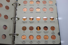 Load image into Gallery viewer, 1959 - 2010 Lincoln Cents Coin Collection - Penny Collection - Littleton Album