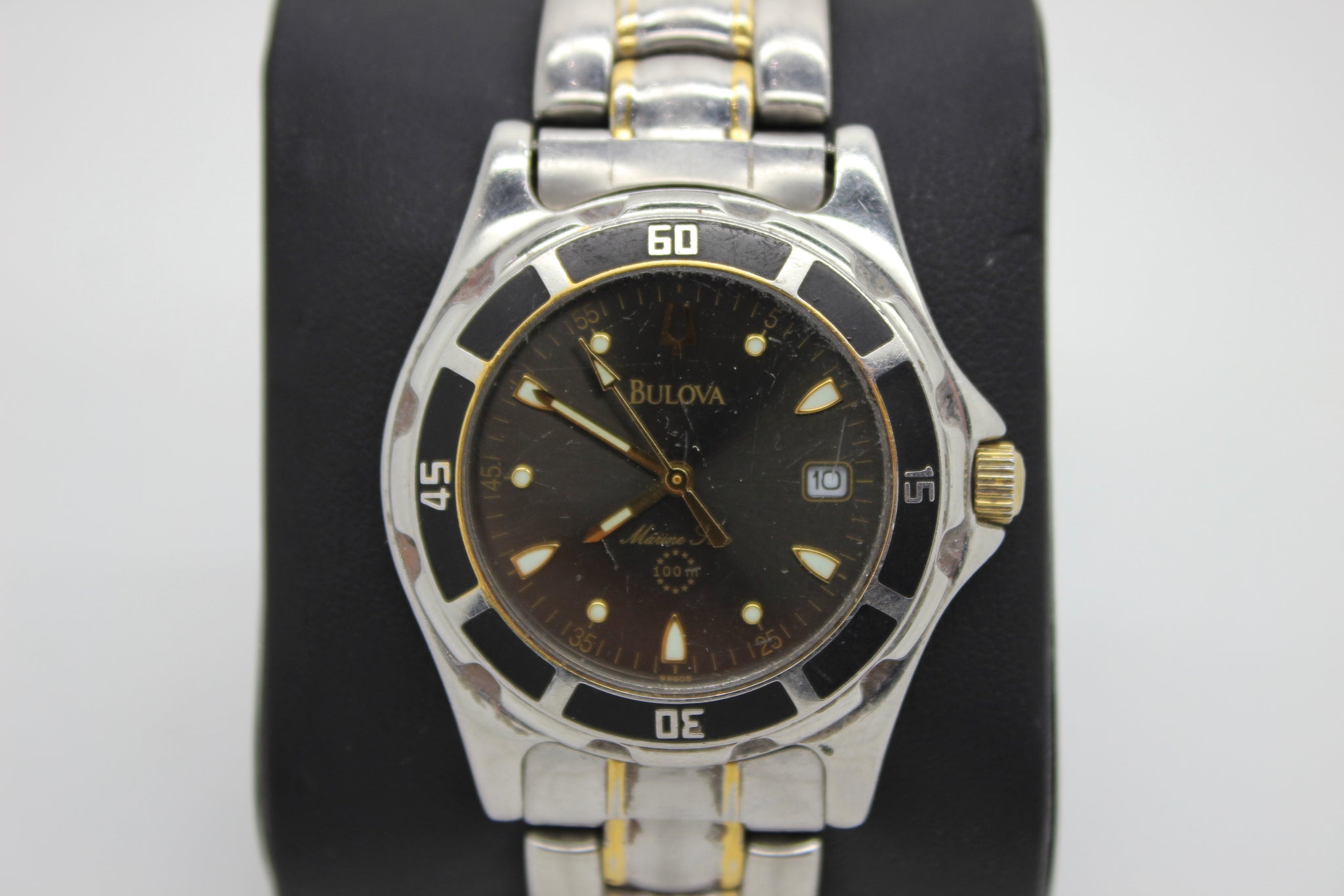 f8af69c78 Load image into Gallery viewer, Bulova Marine Star Chronograph Stainless  Steel Men' ...