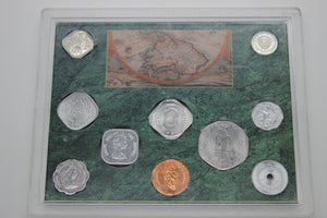 1992 Odd Shaped Coins of The World - 10 Coin Set