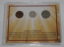 Load image into Gallery viewer, COINS OF YESTERYEAR - 75th Anniversary 3 Coin Commemorative Set