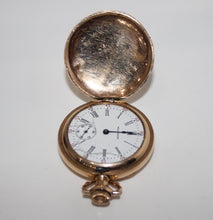 Load image into Gallery viewer, Vintage Waltham Pocket Watch, 1907 - Grade 161, Gold Tone, 0s, 15j - For Parts