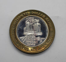 Load image into Gallery viewer, Limited Edition Hilton Ten Dollar Gaming Token - Dog - .999 pure Silver - Reno, NV