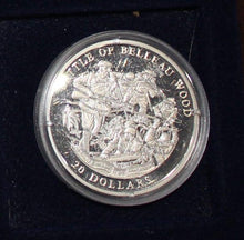 Load image into Gallery viewer, 2003 Republic of Liberia 20 Dollars Commemorative Silver Coin - Belleau Wood