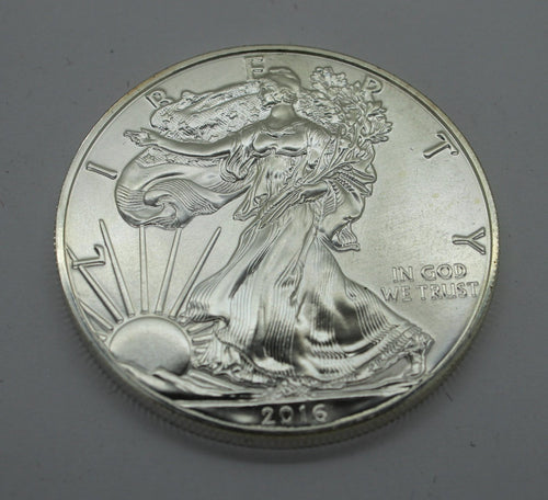 2016 Walking Liberty American Eagle Silver Dollar - .999 1 OZ. Silver