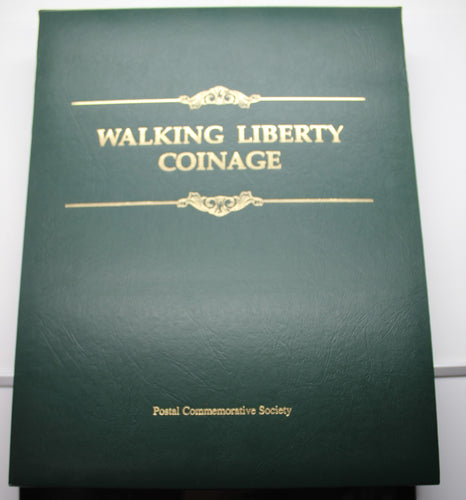 Walking Liberty Coinage Set - Postal Commemorative Society - Silver Eagles
