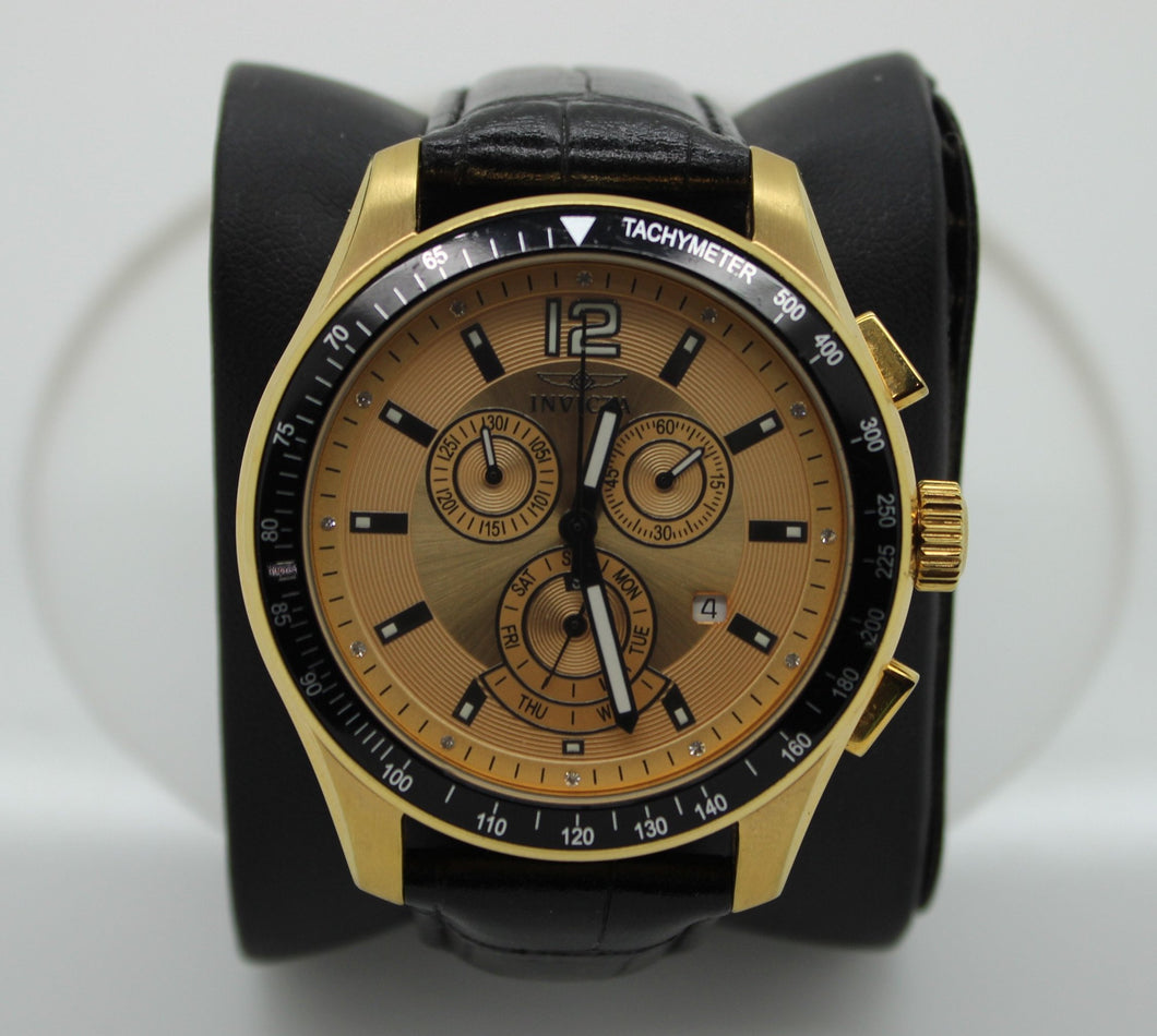 Invicta Specialty Model 11260 - Gold Men's Wristwatch