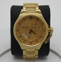 Load image into Gallery viewer, Ballast Men's Wristwatch - Gold Stainless-Steel Bracelet BL-3126-55
