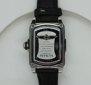 Invicta Baby Lupah 2085 Wrist Watch for Women - Green Face - Leather Strap
