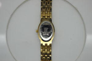 EJ Quartz Women's Wrist Watch - Gold Tone - Oval shape