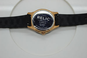 Relic ZR15653 Men's Watch - Stainless Steel Case - 3 Dials - Silicone Band