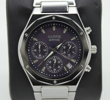Load image into Gallery viewer, Harris Sapphire Crystal Tungsten Stainless Steel Men's Watch - 30M Water Resist