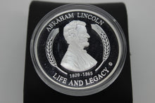 Load image into Gallery viewer, Abraham Lincoln Silver Coin - 1809-1865 Life And Legacy - Gettysburg Address