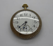 Load image into Gallery viewer, 1903 Hampden Watch Co. Pocket Watch - Dueber Grand - Works - Open Face, 17j, 18s