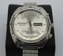 Load image into Gallery viewer, Vintage Wittnauer 2000 Automatic Men's Watch - Perpetual Calendar, Stretch Band