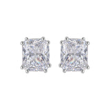 3.5 Ct Emerald Radiant Cut Solitaires