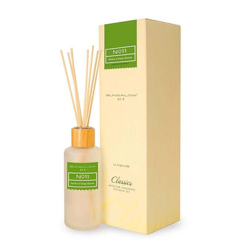 Bungalow No.9 No.11 Bamboo and Orange Blossom Diffuser 200ml