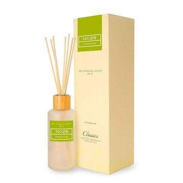 Bungalow No.9 No.29 Lemongrass and Sage Diffuser 200ml