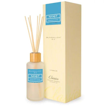 Bungalow No.9 No.67 Honeysuckle and Lavender Diffuser 200ml