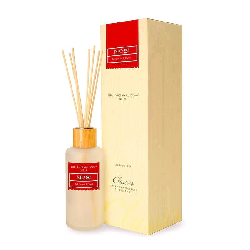 Bungalow No.9 No.81 Red Currant and Thyme Diffuser 200ml