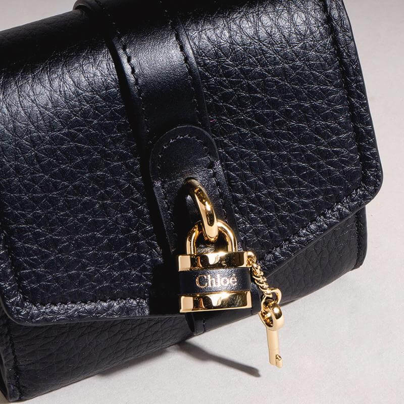 Chloé Aby Wallet Small Black